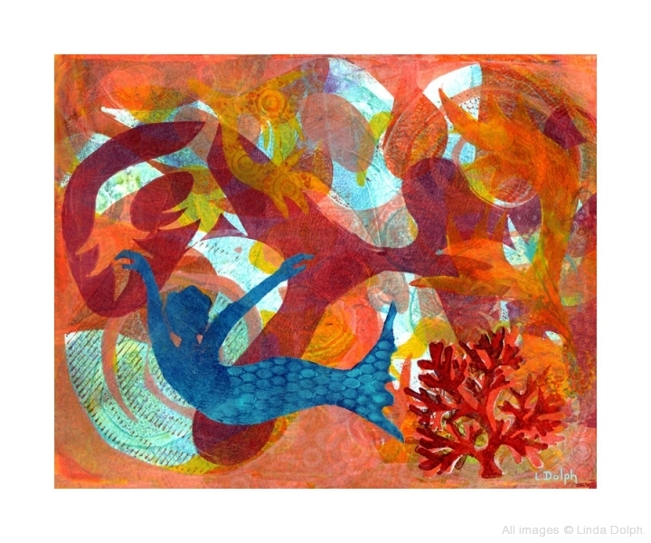 Coral Mermaid